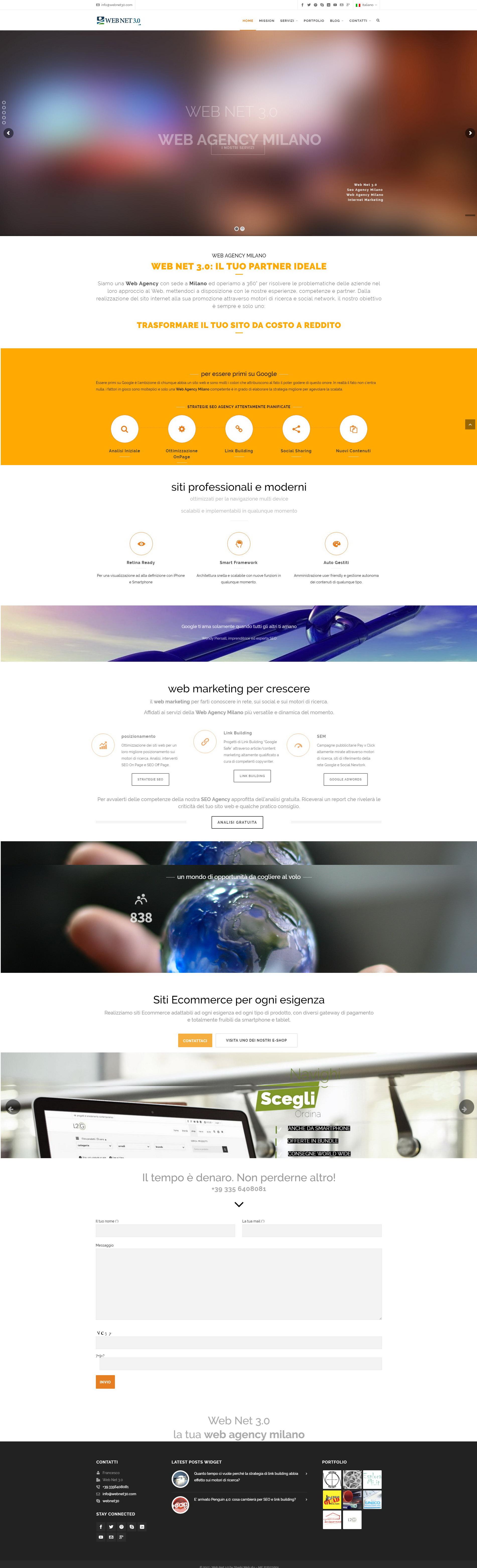 Web Net 3.0 - Seo & Web Agency