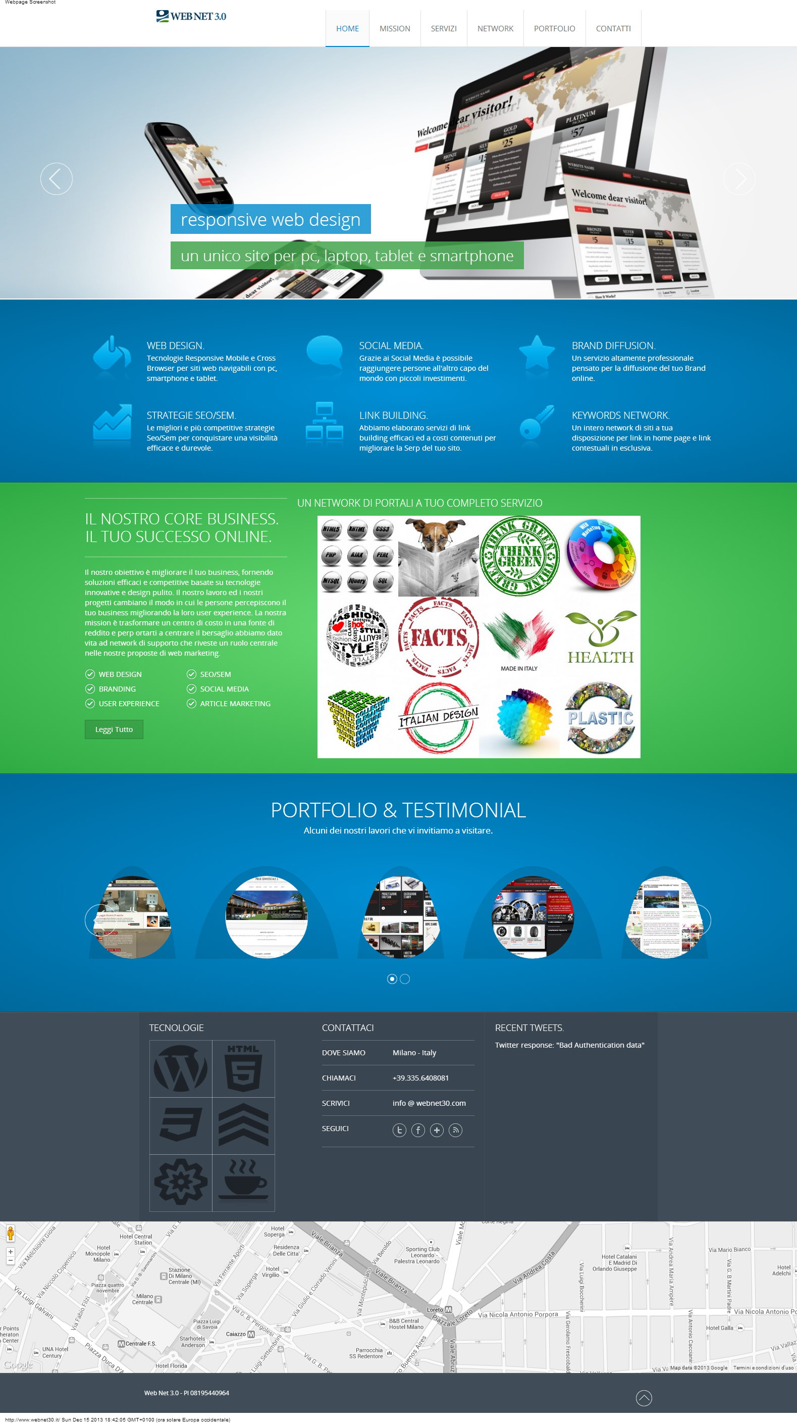 Web Net 3.0 Agenzia Web e Seo