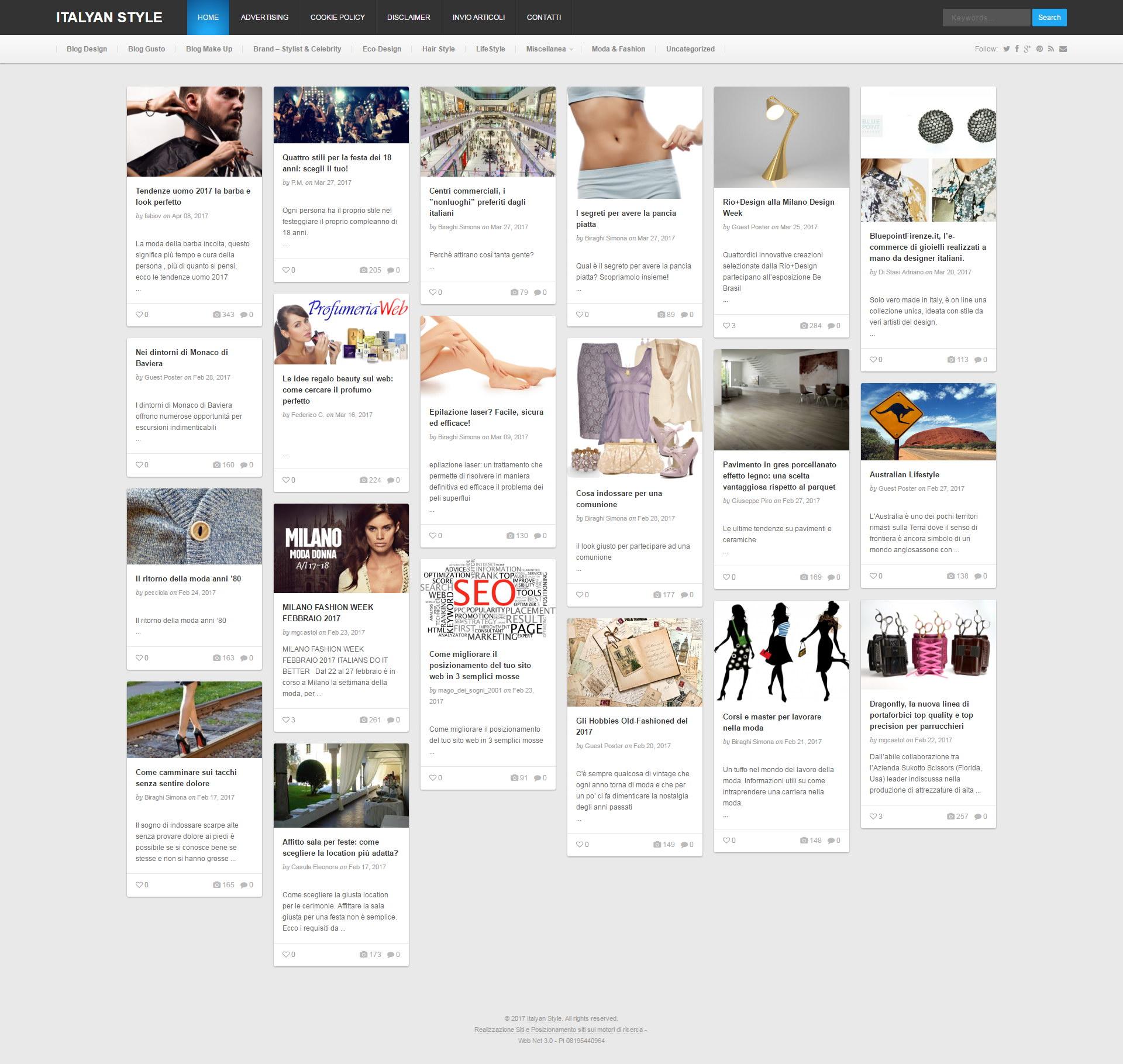 ItalyanStyle.com: lifestyle, fashion, design