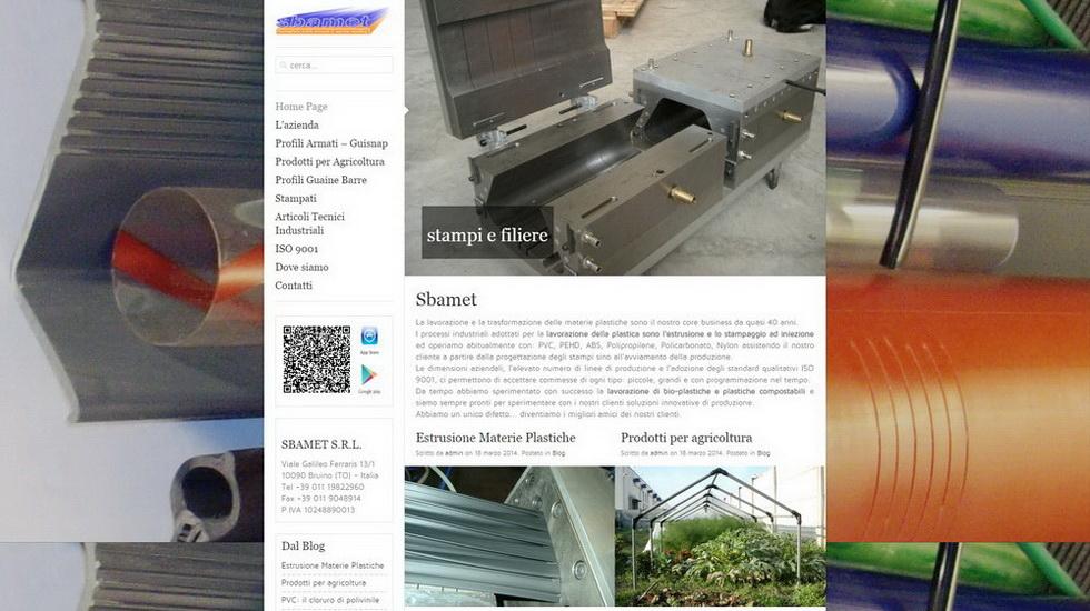 Sbamet Estrusione Materie Plastiche