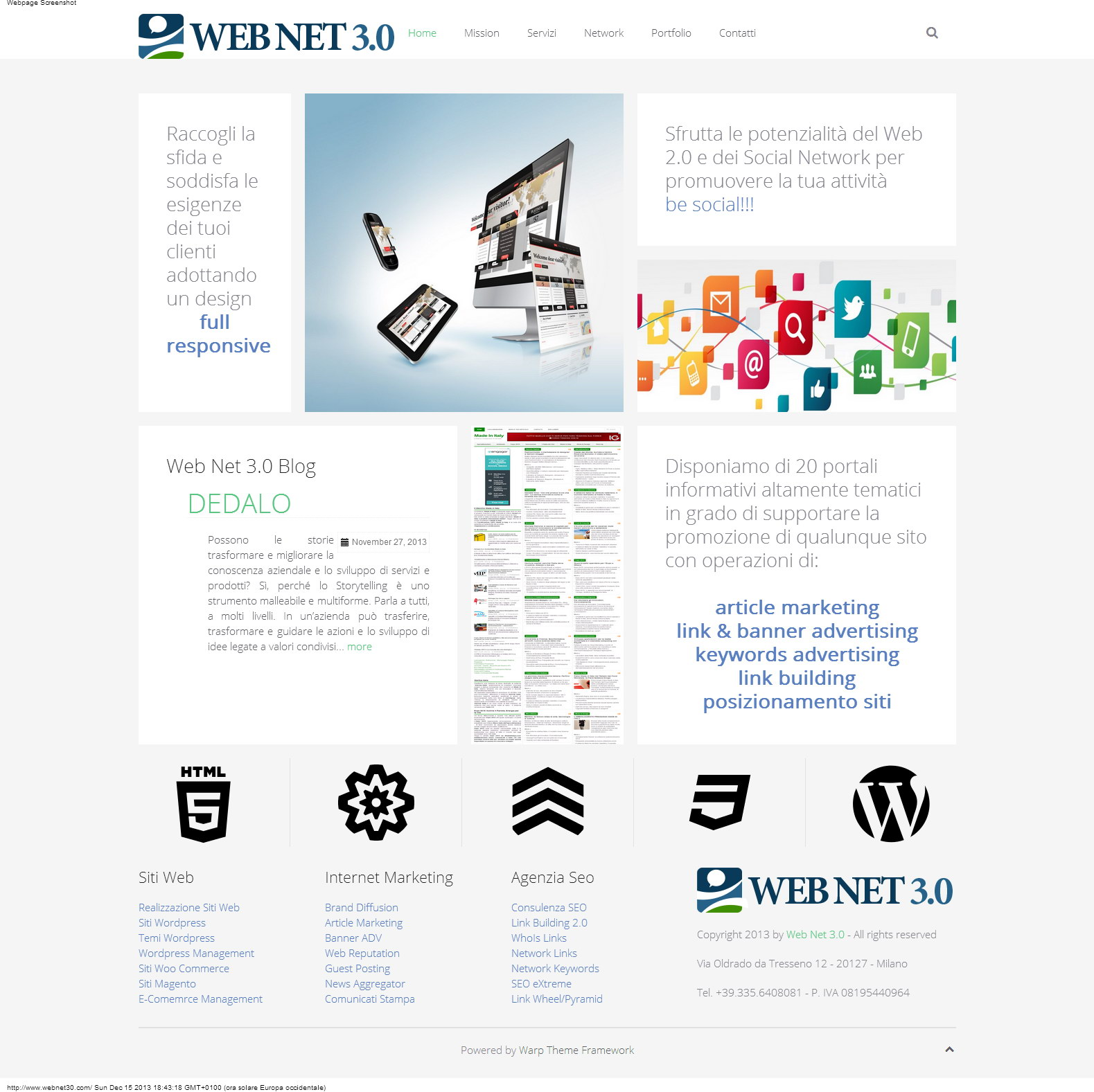 Web Net 3.0 Web Agency Agenzia Seo
