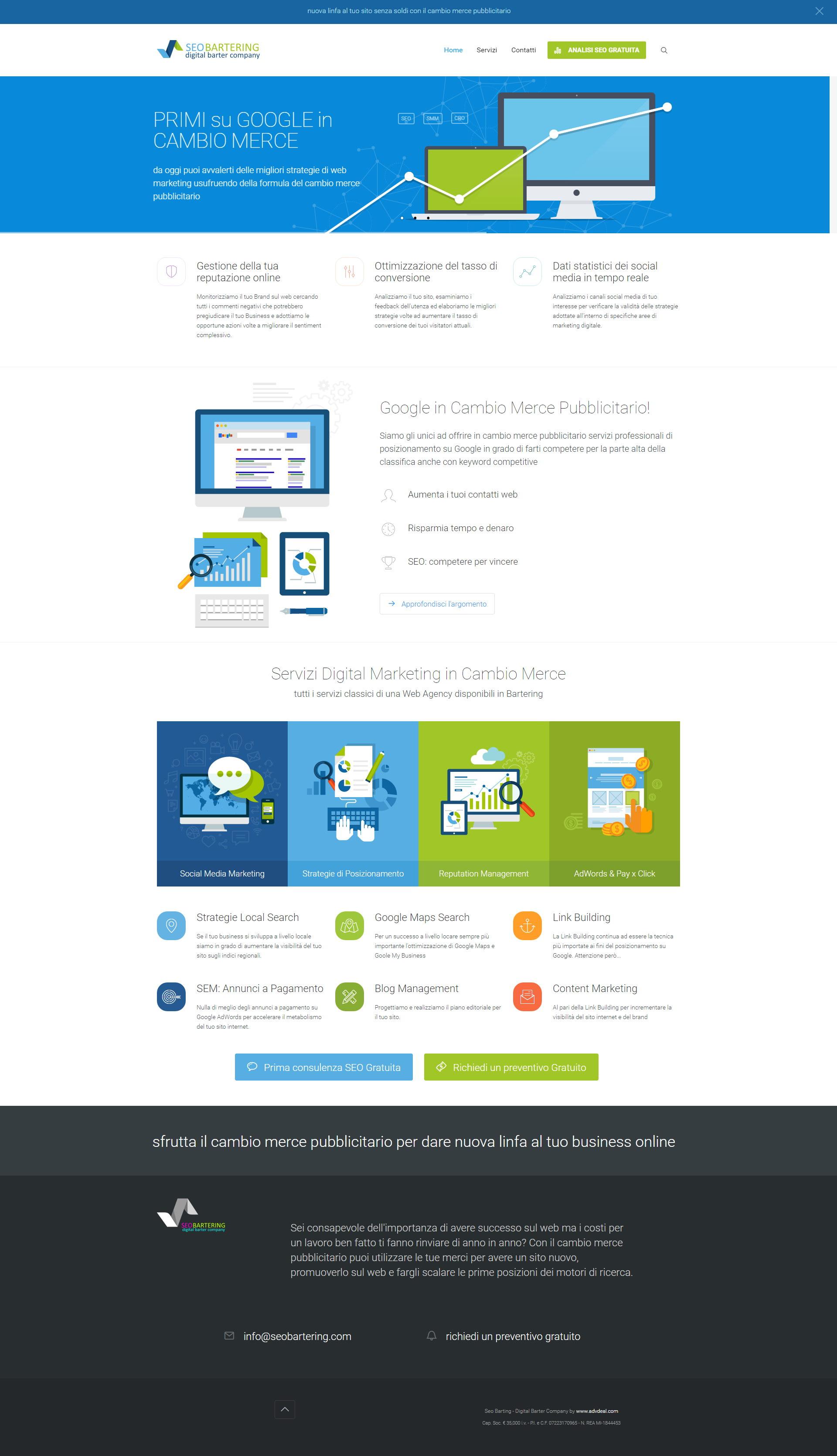 Seo Bartering - Digital Barter Company