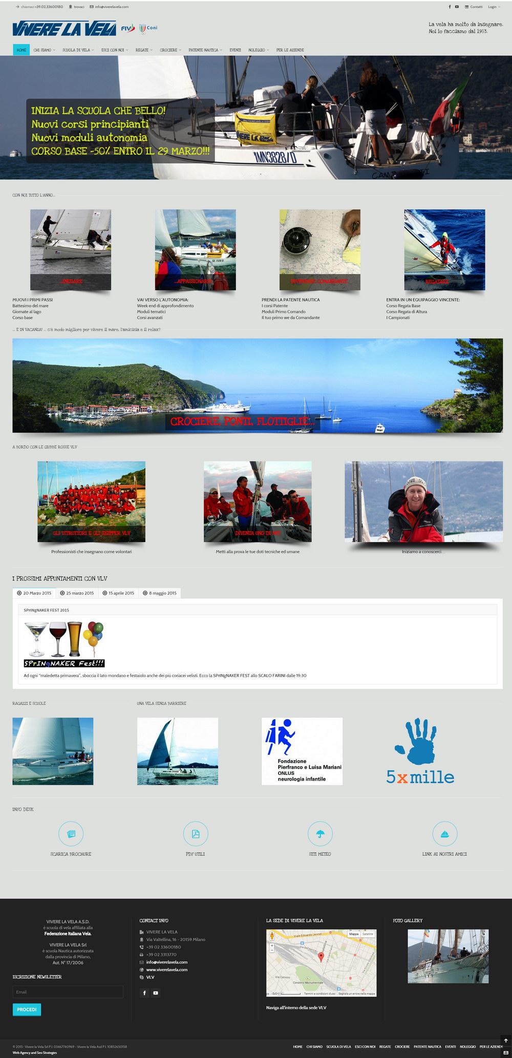 Vivere la vela - Scuola di vela e patente nautica
